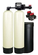 128,000 Grain Alternating Twin Water Softener Installed Price